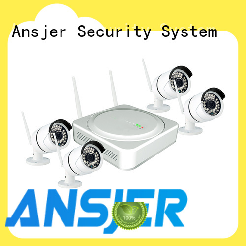 Ansjer cctv high quality best wireless security camera system wholesale for surveillance