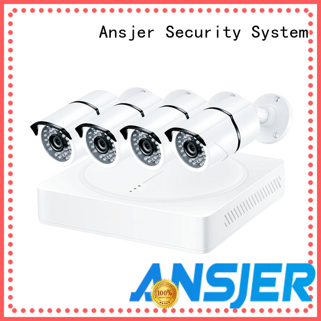 Ansjer cctv high quality 1080p hd security camera system manufacturer for surveillance