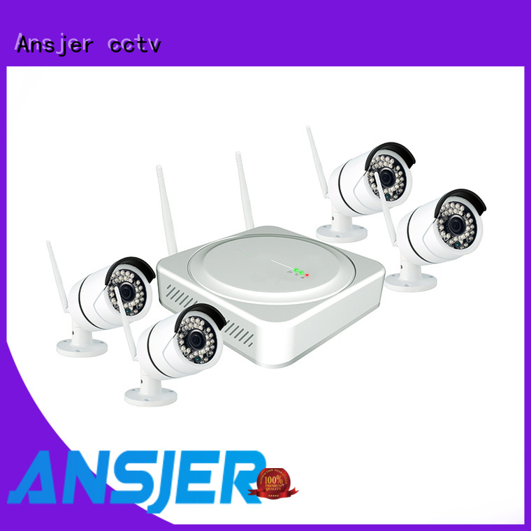 Ansjer cctv high quality 5mp wireless security camera series for indoors or outdoors