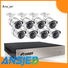 Ansjer Brand durable 1080p poe nvr bullet factory