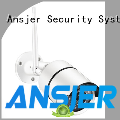 Ansjer C199 1080P Full HD Wireless Smart Security Camera, 100ft Night Vision WiFi IP Surveillance Bullet Camera, Moton Detection Alerts, Outdoor Weatherproof IP66