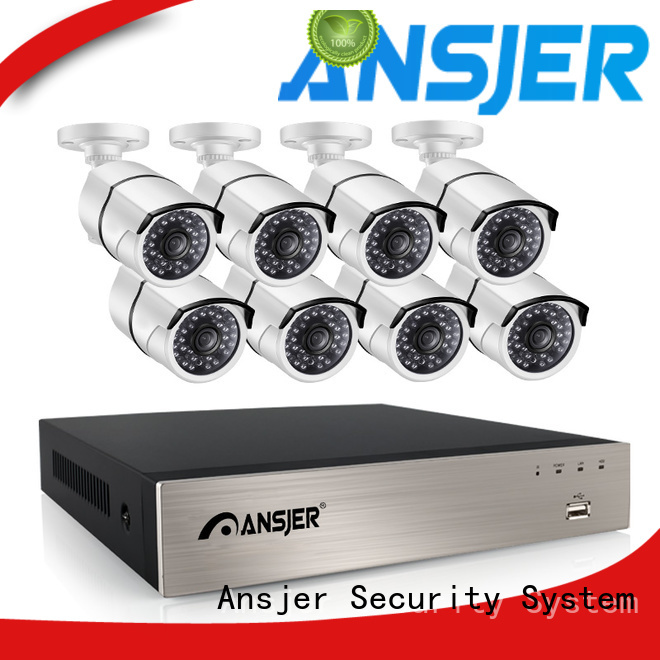 Ansjer cctv internet 1080p poe security camera series for indoors or outdoors