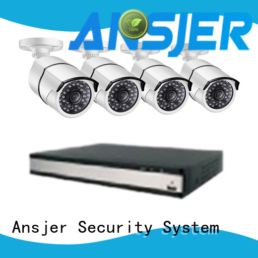 Ansjer cctv security security camera system 5mp wholesale for indoors or outdoors
