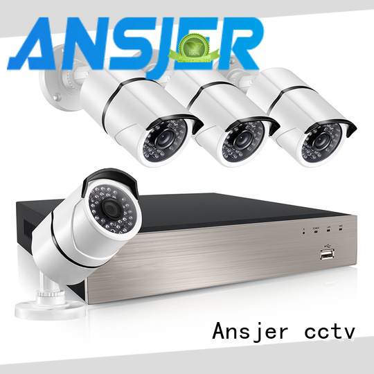 Ansjer cctv outdoor nvr 1080p series for office