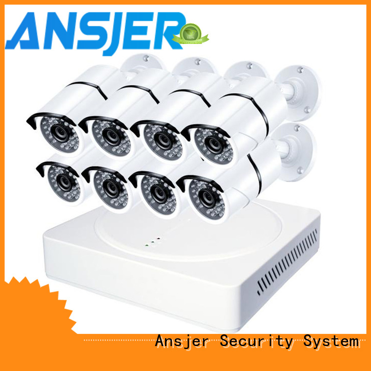 Ansjer cctv surveillance 2k ip security camera system series for home