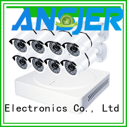 Ansjer cctv durable 2k ip security camera system wholesale for office