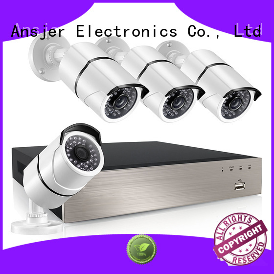 Ansjer cctv video 8ch poe nvr supplier for office
