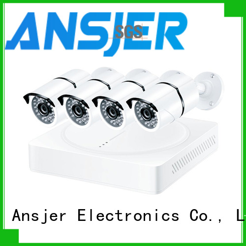 Ansjer cctv durable 1080p security camera system wholesale for indoors or outdoors