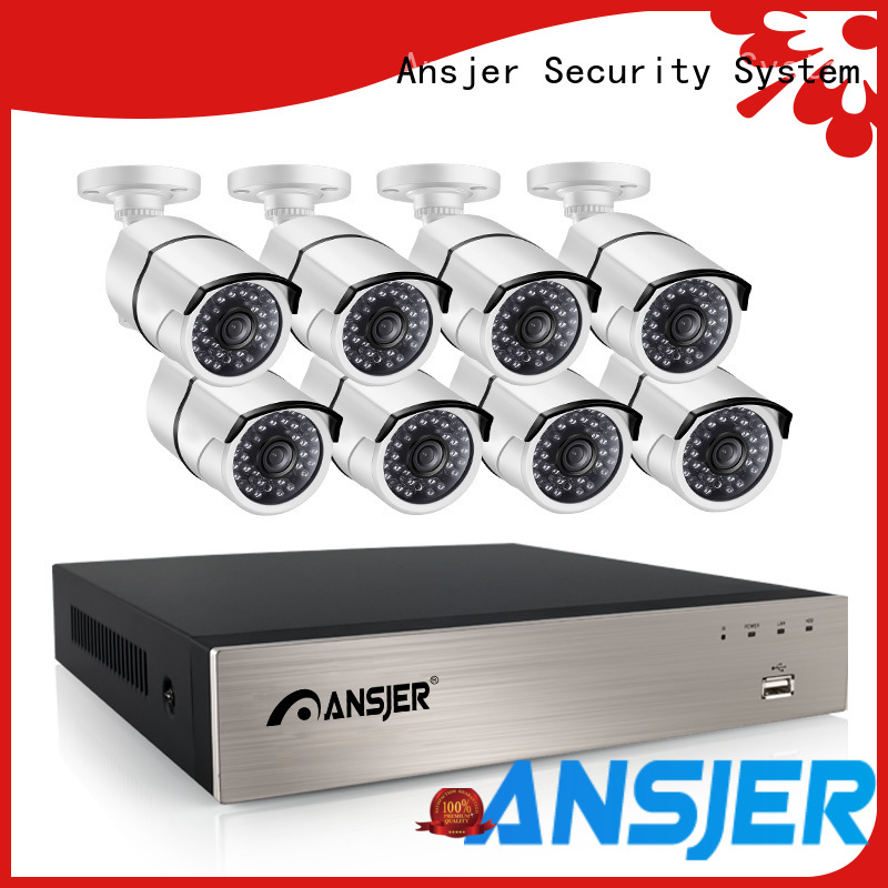Ansjer cctv smartphone ip camera poe 1080p wholesale for surveillance