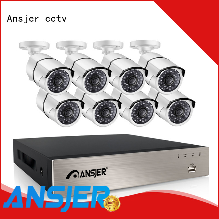 Ansjer cctv motion poe ip camera 1080p supplier for home