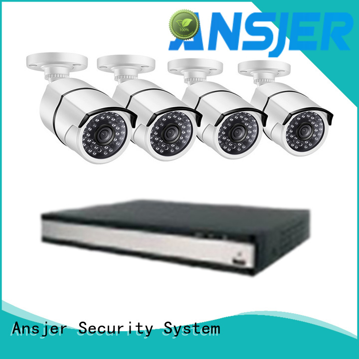 Ansjer cctv nvr 1080p poe security camera wholesale for indoors or outdoors