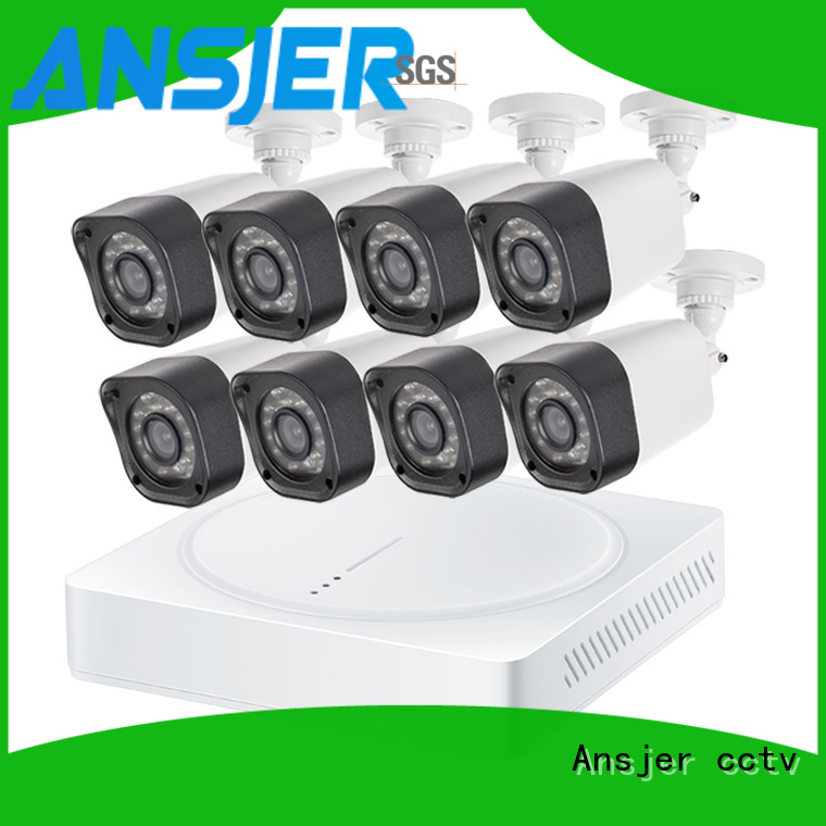 Ansjer cctv cameras 720p camera system supplier for surveillance