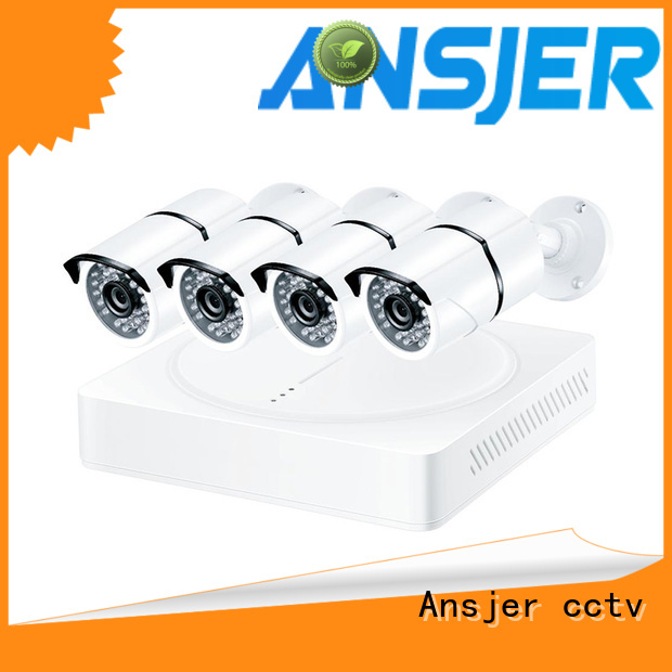 ip security camera system with 1080p cameras email for indoors or outdoors Ansjer cctv