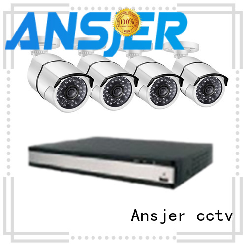 Ansjer cctv security poe cctv 1080p wholesale for office