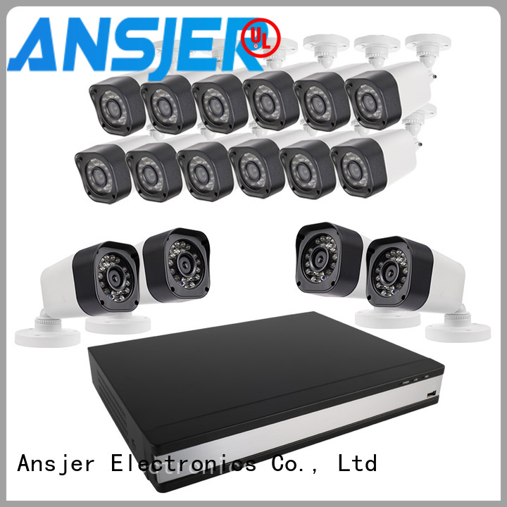 Ansjer cctv 720p hd security camera system manufacturer for surveillance