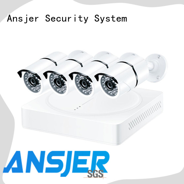 Ansjer cctv bullet 4k cctv system wholesale for office