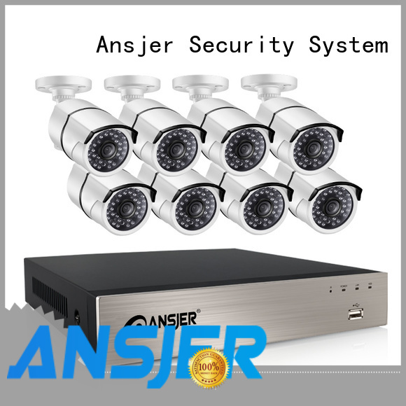 Ansjer cctv electric nvr 1080p series for indoors or outdoors