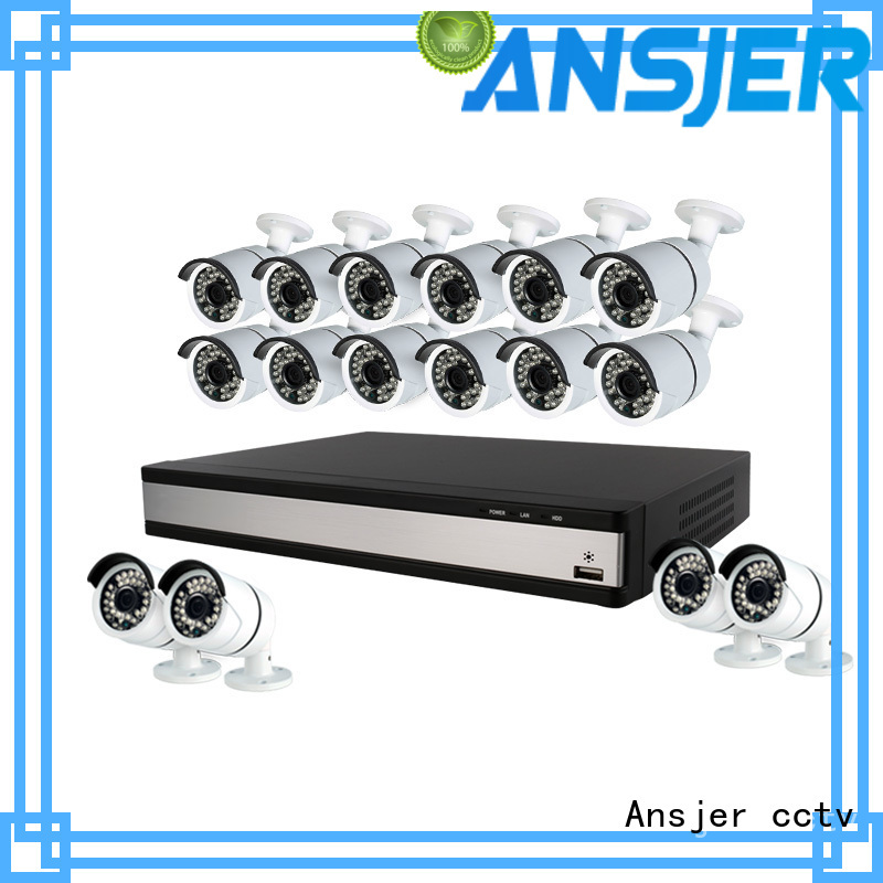 Ansjer cctv 1080p security camera system supplier for home