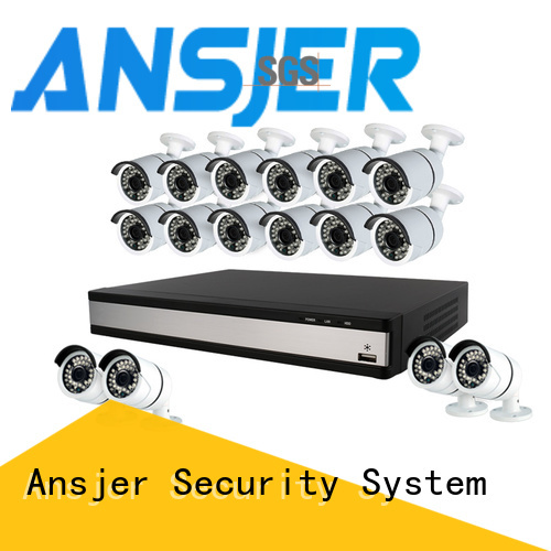 Ansjer cctv high quality 1080p security camera system series for home