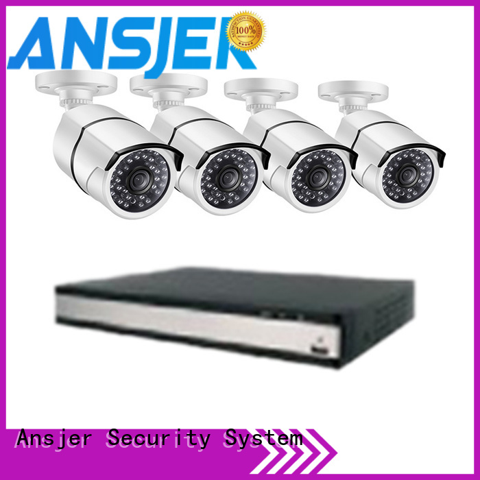 high quality nvr camera supplier for indoors or outdoors Ansjer cctv