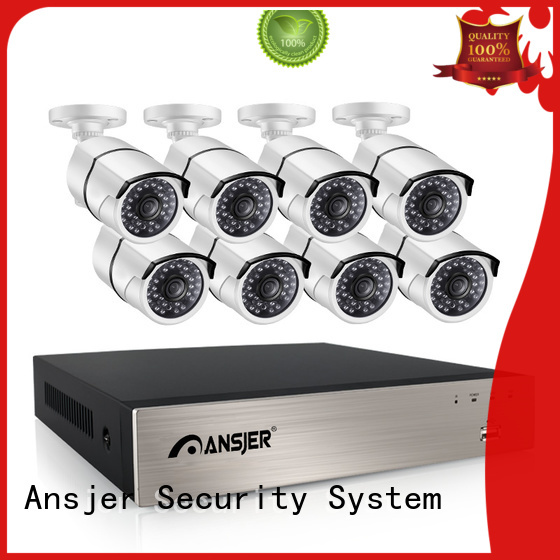 Ansjer cctv 5mp poe ip camera night for home