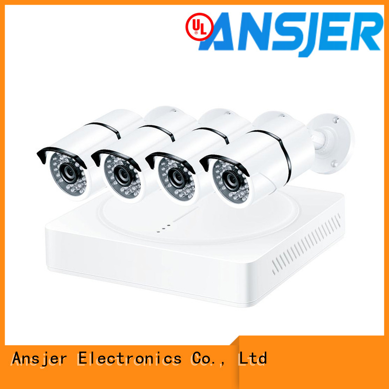 Ansjer cctv electric best 4k security camera system manufacturer for indoors or outdoors