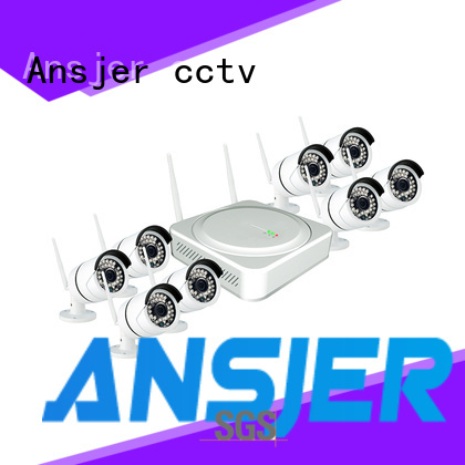 Ansjer cctv wireless wireless cctv system wholesale for indoors or outdoors