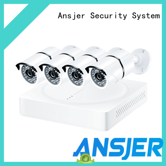 Ansjer cctv internet 1080p security camera system supplier for office