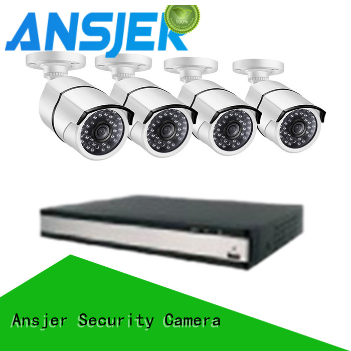 home surveillance cameras two way audio battery camera Ansjer Brand
