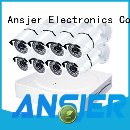 Ansjer cctv recorder 8mp security camera system supplier for surveillance