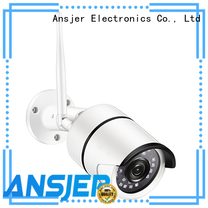 Ansjer cctv durable wifi ip cctv camera supplier for office
