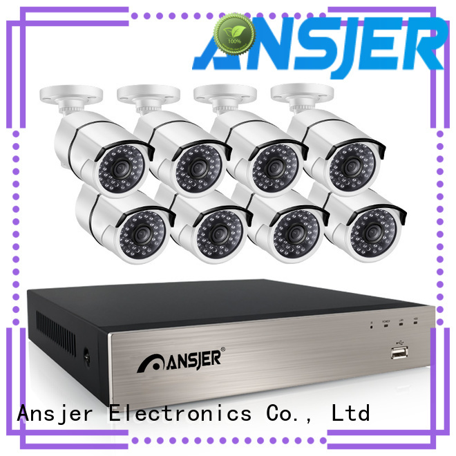 Ansjer cctv video 5mp nvr manufacturer for surveillance