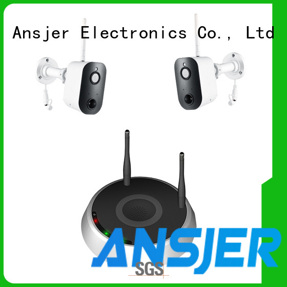 Ansjer cctv durable best smart home security system series for indoors or outdoors