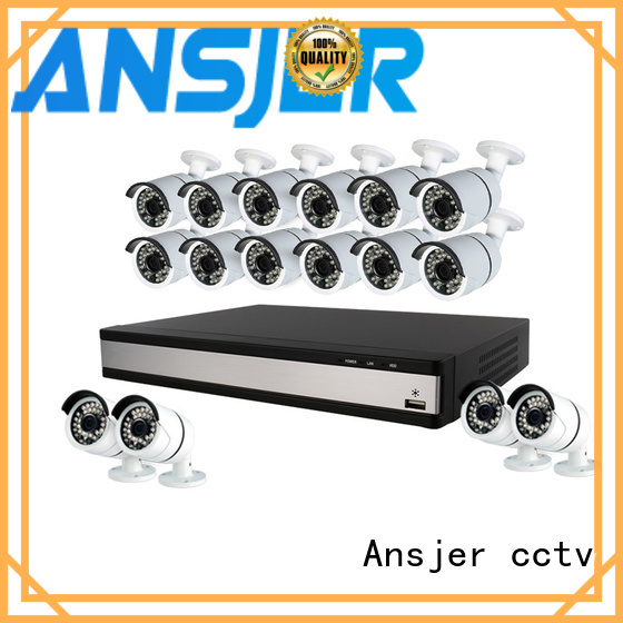 Ansjer cctv camera 1080p hd security camera system manufacturer for home