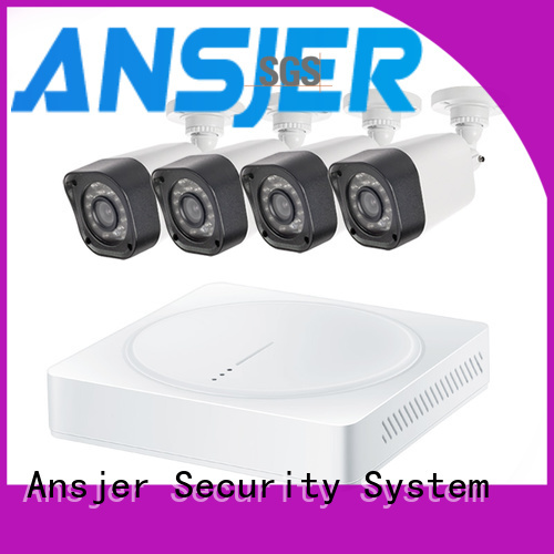 Ansjer cctv high quality best 720p security camera system with night vision for surveillance