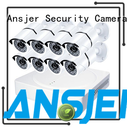 Ansjer Brand cost-efficient channels durable 1080p security system manufacture