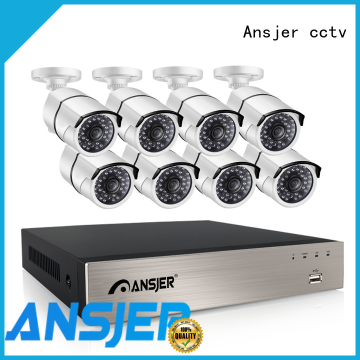 Ansjer cctv 5mp poe supplier for surveillance