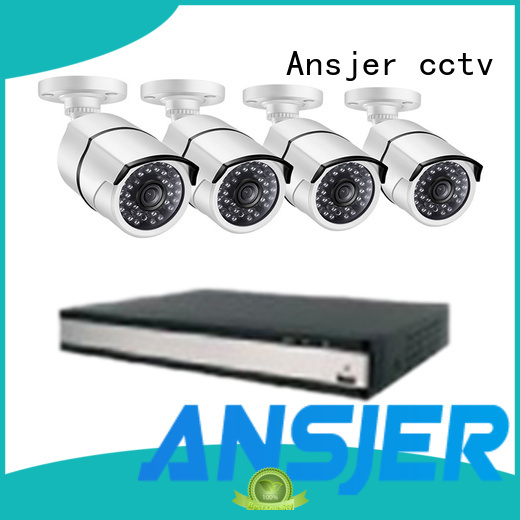 Ansjer cctv smartphone 1080p nvr manufacturer for indoors or outdoors