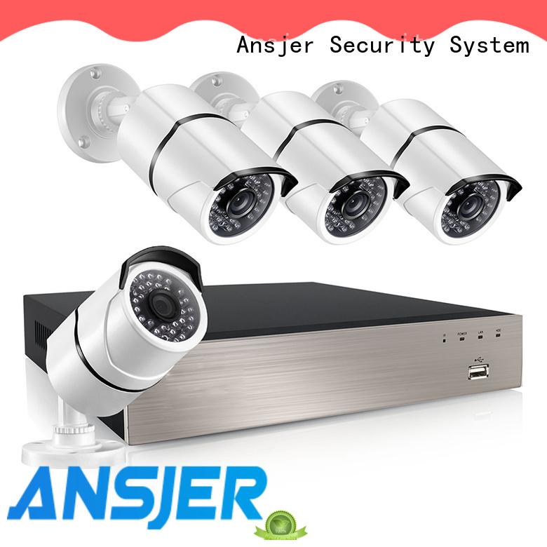 Ansjer cctv nvr 5mp series for surveillance