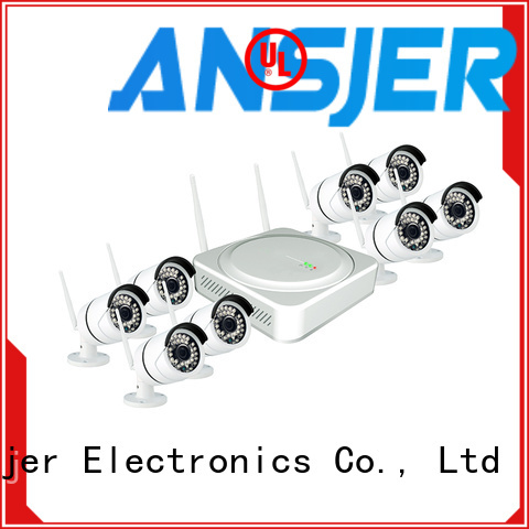 Ansjer cctv electric 1080p wireless security camera with night vision for home