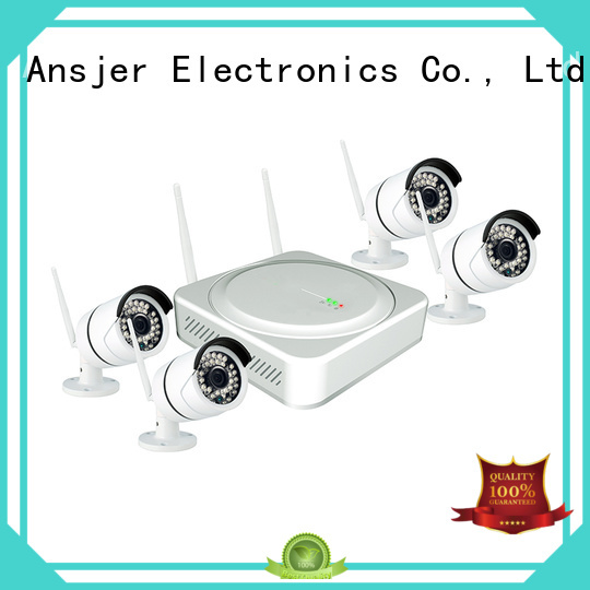 recorder best 4 camera wireless security system motion for surveillance Ansjer cctv