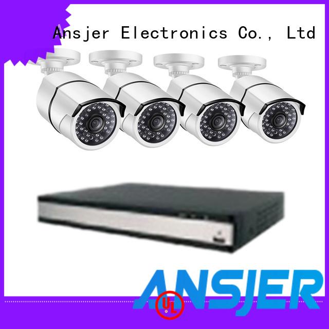 Ansjer cctv smartphone 2k ip camera system manufacturer for office