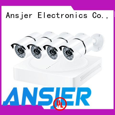 Ansjer cctv durable 4k surveillance camera system supplier for surveillance