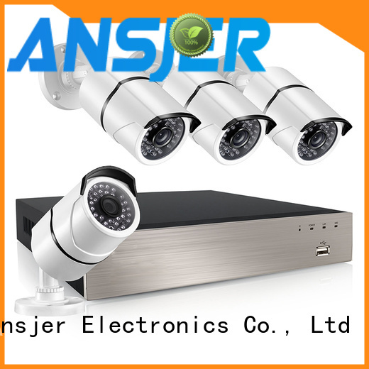 Ansjer cctv indoor 1080p poe security system wholesale for home