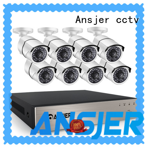 Ansjer cctv high quality 5mp poe ip camera wholesale for indoors or outdoors