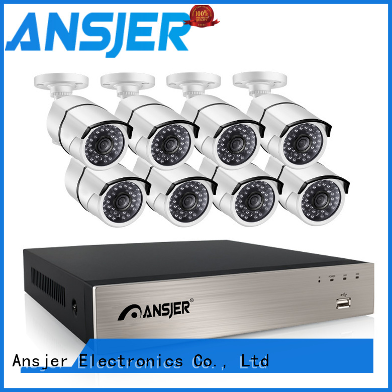 Ansjer cctv high quality poe cctv 1080p supplier for office