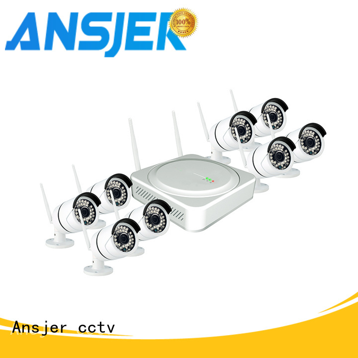 Ansjer cctv indoor 1080p hd wireless security camera system supplier for surveillance