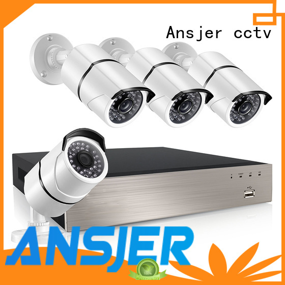 Ansjer cctv electric ip camera 5mp poe supplier for surveillance