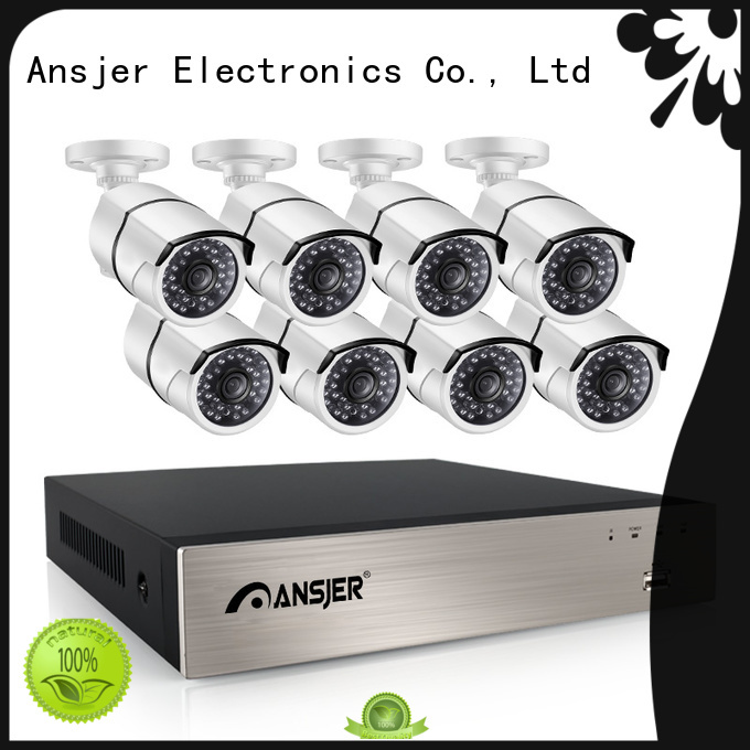 Ansjer cctv high quality 1080p poe wholesale for office