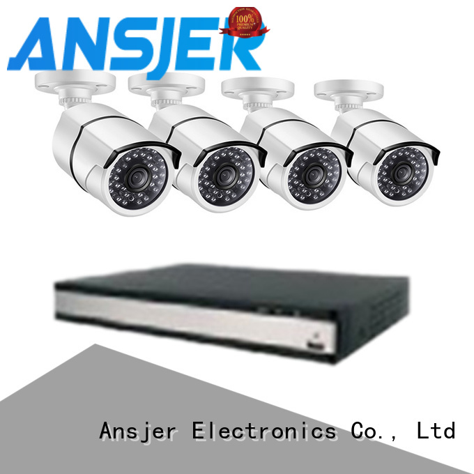 Ansjer cctv 2k security camera system series for office